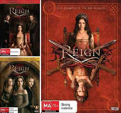 Reign : The Complete Season 1, 2 & 3 : NEW DVD