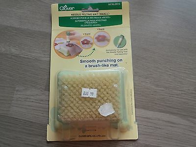 Clover Needle Felting Mat. For punching Applique. Size Small. CL8910
