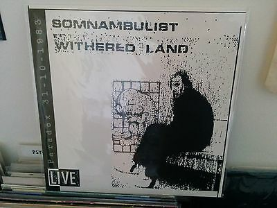 SOMNAMBULIST - Withered Land LP minimal synth coldwave Lisfrank Snowy Red