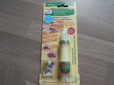 Clover Needle Felting Tool. For punching Applique.  CL8900