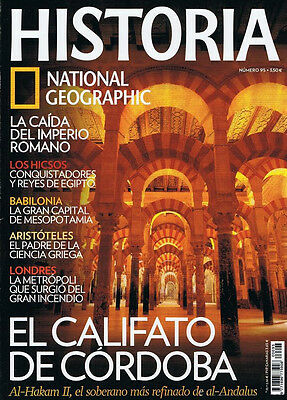 Lote 54 revistas National Geographic Historia (nums. 8 a 109)
