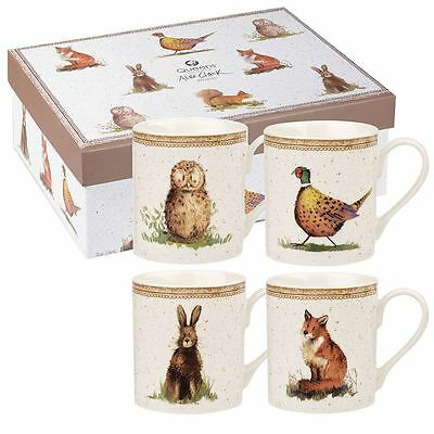 Alex Clark Wildlife Larch Mug (Set of 4)
