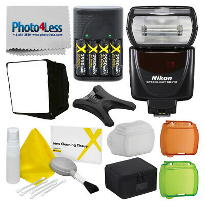 Nikon SB-700 AF Speedlight Flash for Nikon DSLR + Deluxe Accessory Bundle!