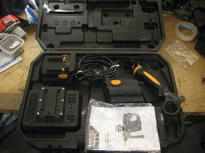 MAC Allister Case for SDS Cordless Hammer Drill COD24VCH + Charger & 2 Batteries