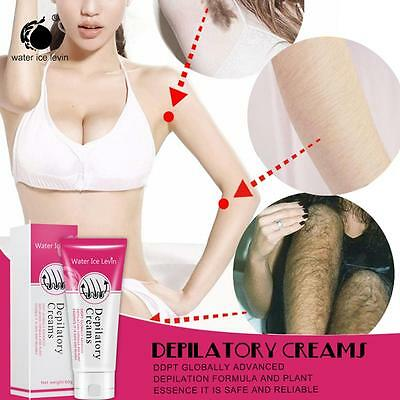 Men&Women Water Ice Levin  Powerful Permanent Depilatory Hair Removal Cream Hai