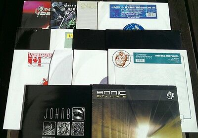 "14 Drum n Bass DNB 12"" Vinyl Records Bundle collection New Lot 9"