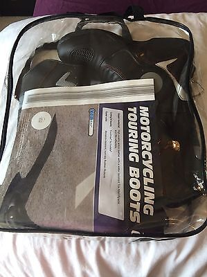 motorcycle touring boots size 10