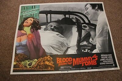Hammer Horror - Blood From The Mummy's Tomb - Lobby Card #5