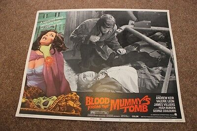 Hammer Horror - Blood From The Mummy's Tomb - Lobby Card #6