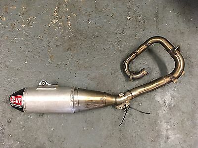 YOSHIMURA RS4 SS FULL EXHAUST SYSTEM YAMAHA YZ250F YZF250 2014-2017 Used