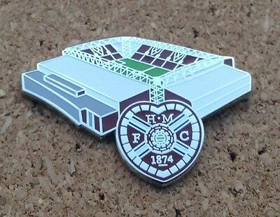 Heart of Midlothian/Hearts- New Tynecastle Pin/Badge