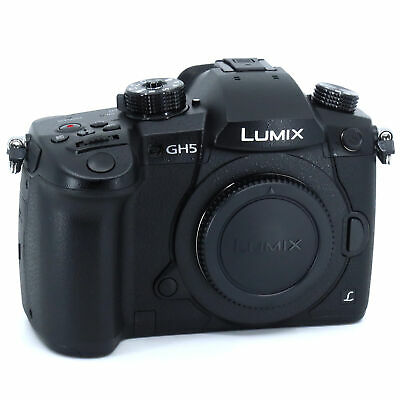 Panasonic LUMIX DC-GH5 4K VIDEO/6K PHOTO Digital Camera - (Body Only) NEW!