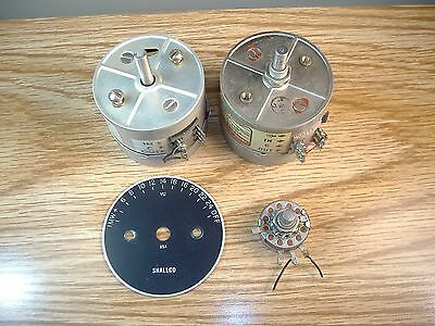 3 vintage Daven, Shallco and Allen Bradley switches, pots and attenuators