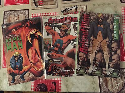 ANIMAL MAN 1-2-3 di Grant Morrison. Serie completa Magic Press