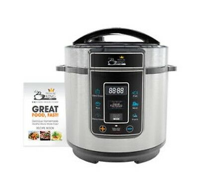 Pressure King Pro (3L) 8-in-1 Digital Pressure Cooker