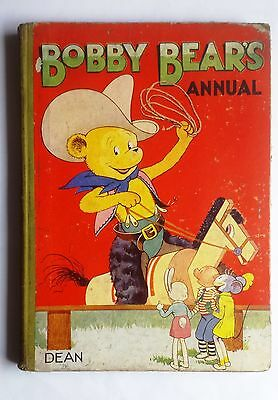 Bobby Bear's Annual 1952 Dean & Son Ltd Childrens Book