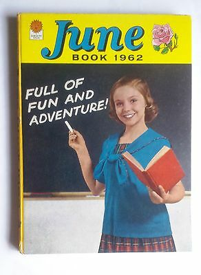 June Book 1962 Girls Children's Annual