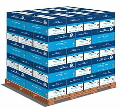 Hammermill Copy Plus, 8.5 x 11 20lb 92 Bright, 1 Pallet (40 cases per pallet, 10