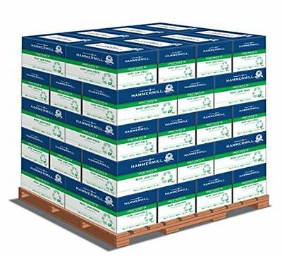 Hammermill Great White 50% Recycled, 8.5 x 11 20lb 92 Bright, 1 Pallet (40 cases