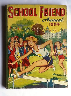 School Friend Annual 1954 Girls Book