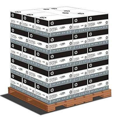 HP Everyday Copy & Print, 8.5 x 11 20lb 92 Bright, 1 Pallet (40 cases per pallet
