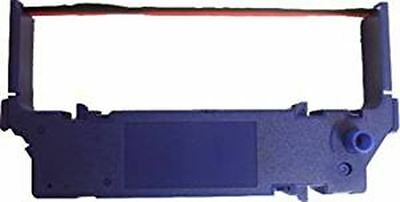 Compatible Printer Ribbon for Star SP700 Black/Red, Case of 6