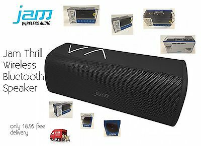 Wireless Bluetooth Jam Thrill Stereo Speaker For iPhone/iPad/Tablet Only 18.95