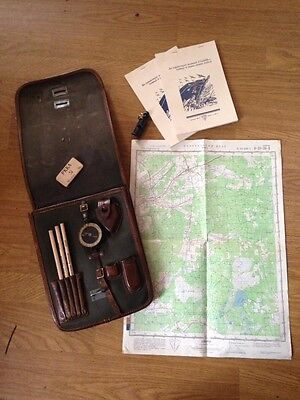 Map case Soviet Ww2 Original