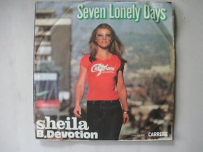 "7"" Single Sheila B. Devotion : Seven Lonely Days"
