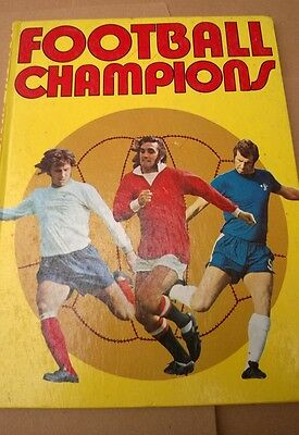 Football Champions Annual Book 1972