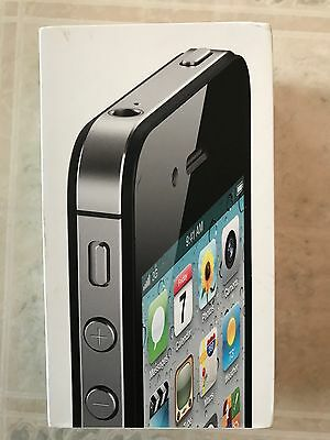 APPLE iPhone 4S 16GB BLACK OEM EMPTY BOX~TRAY~INSERT~INSTRUCTION MANUAL ONLY