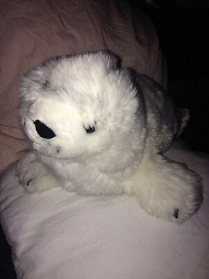 Fluffy Seal Toy
