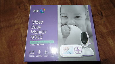 bt video baby monitor 5000 with remote pan tilt 2.8 inch screen