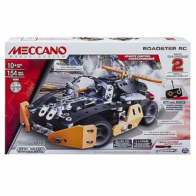 Meccano Roadster RC Model Building Set, 154 Pieces, For Ages 10+