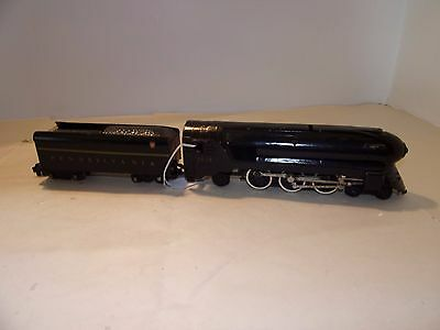 American Flyer S Gauge Bullet 4-6-2 Pennsylvania Steam Locomotive & Tender