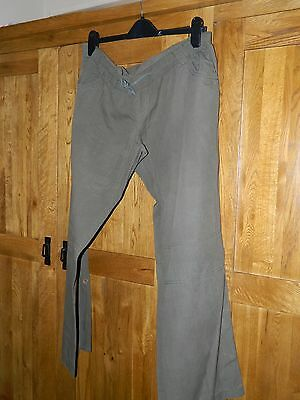 Blooming Marvellous  Grey Over The Bump Casual Combat Trousers Size 14