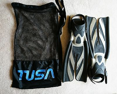Tusa XPERT ZOOM Split Fins Diving size small
