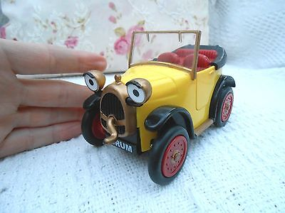 BRUM vintage CAR, 2001 WIBBLY WOBBLY,GOLDEN BEAR TOYS,opening doors,was friction