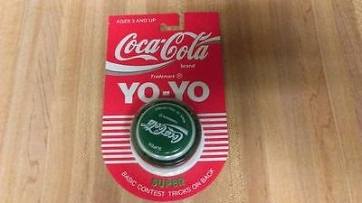 Rare Genuine Russell Coca Cola Green Super YoYo,1989,philippines,new!
