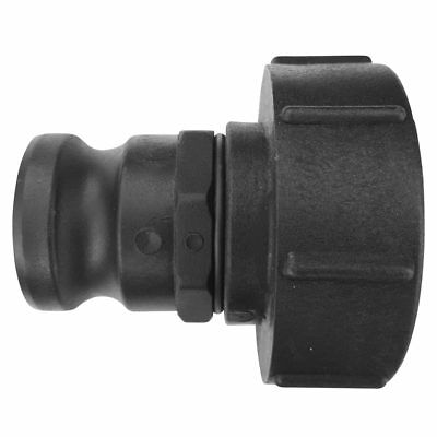 "IBC Container Adapter S100x8 (100mm) Grobgewinde DN80 - 2"" Camlock Stecker Vater"