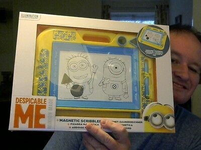 Disney Despicable Me Etch A Sketch Variant Toy Great Gift! Free Uk Post