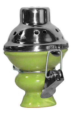 New Hookah Bowl Wind Cover Ceramic Shisha Head Charcoal Metal Screen GREEN