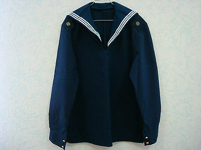 Russian Soviet Army Fleet Naval Shirt Jacket FLANKA Sailor Seaman Navy Матрос
