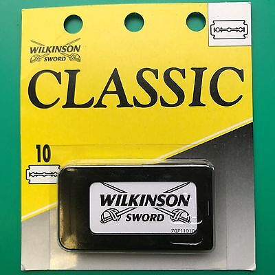 Lot of 2 Wilkinson Sword Classic Double Edge Blades (20 blades total)