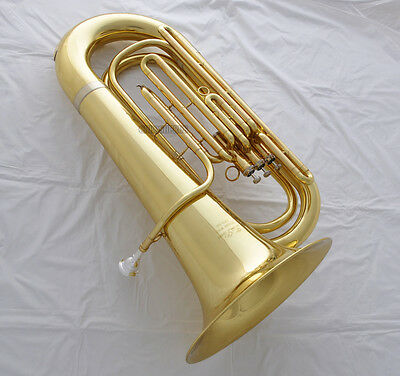 Professional TAISHAN Bb TUBA 3 Piston Monel valve Copper Zinc Alloy FREE 2 mouth