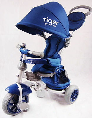 Latest Design Little Tiger 4 In 1 Kids Trike Tricycle
