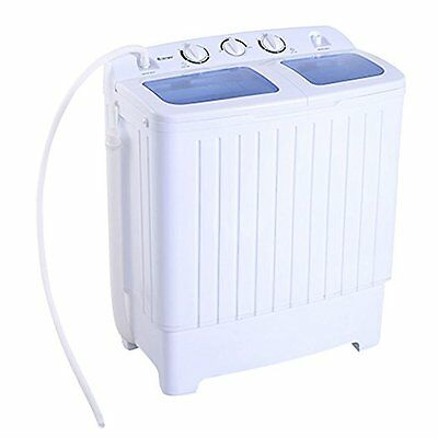 Mini Portable Apartment Washing Machine Christmas Gift Laundry Compact 11lbs