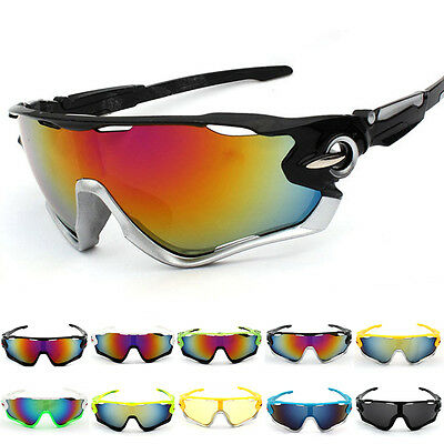 UV400 Night Vision Cycling Riding Driving Glasses Sports Sunglasses Goggles New