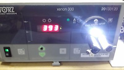Karl Storz 20133120 SCB Light Source Xenon 300 with 393 hours as pictured