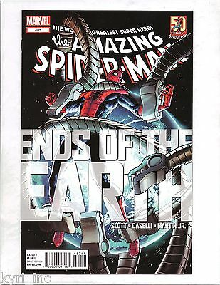 AMAZING SPIDER-MAN #682 ENDS OF THE EARTH PART 1 1st PRINT MARVEL COMICS X3